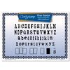 Wordpress Letters Clear Stamps & Mask   per set