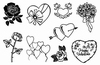 Crea Clear Stamp: Valentijn   per vel