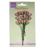 Rose Bud Bright Pink   per set
