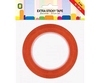 Extra Sticky dubbelzijdig tape 6 mm  XL -  25 m   per rol