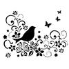 A4 Bird on twig