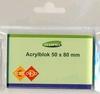 Acrylblok 5 x 8 cm   per stuk