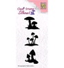 Silhouette clear stamps Mushrooms