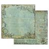 Alchemy Manuscript Turquoise Background   per vel