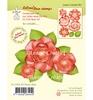 3D Flower Rose   per set