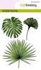 tropische bladeren   per set