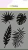A5 tropische bladeren   per stuk