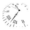 Clock Face Stencil  6