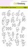 Handletter - Alphabet lower case open   per set