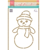 Snowman by Marleen   per stuk