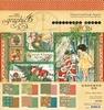 Christmas Magic 8 x 8 paper pad   per set