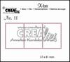 Crealies X-tra no.11 3 Postzegels   per stuk