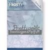 Frosty Ornaments - Prettige Feestdagen Border   per stuk