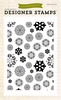 Snowflakes  #2  Background stamp 4