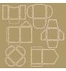 Scrap! Stencil polybesa - Mini envelopes   per stuk