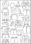 Eline's Clear stamps   Dress up -boy-   per stuk