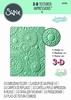 3-D Embossing Folder  Mosaic Gems   per stuk