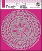 Mandala Circle Tribal by Jolanda 15x15