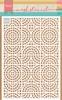 Mosaic tiles circles   per stuk