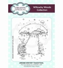 Winter Toadstool rubber stempel