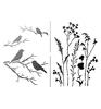 A4 ( 2 x A5)  Gras & Vogels   per vel