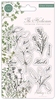 The Herbarium Clear Stamps Herbs