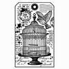 Little Cage label