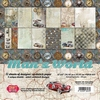 Man's World Big Paper Set 12 vel