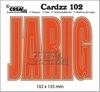 Cardzz no 102 JARIG