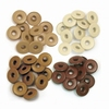 Wide Eyelets Brown
