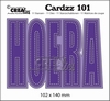 Cardzz no  101 Hoera