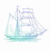 Hatched Tallship