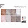Industrial textures Papier set A4