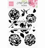 Colorful Silhouette - Roses
