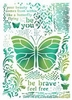 A4 Butterflies