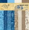 Ocean Blue Patterns & Solids 12 x 12