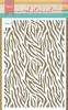 Mask Stencil Zebra