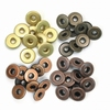 Wide Eyelets Copper Warm Metal  32 st