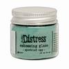 Speckled Egg distress embossing glaze