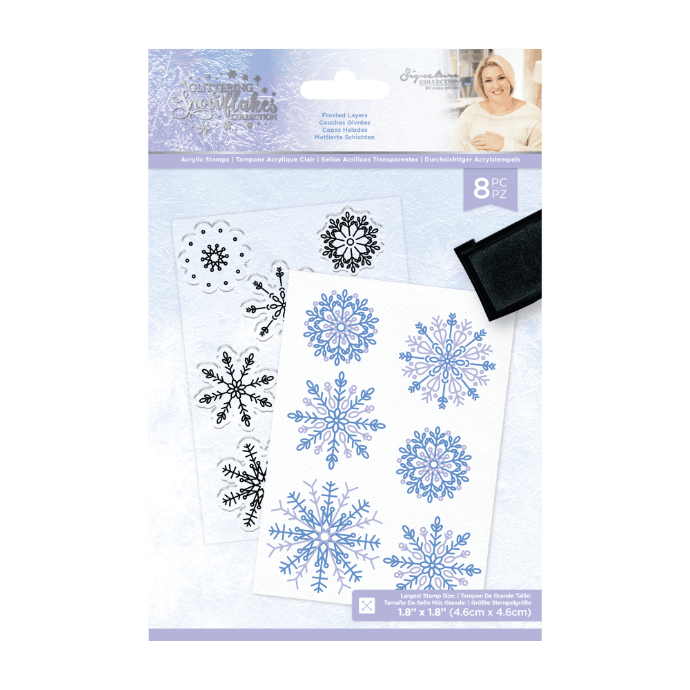 Glittering Snowflakes Coll.: Frosted Layers