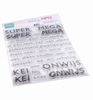 Clear Stamps - SUPER-MEGA-KEI-ONWIJS