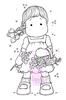 Tilda picking Lilacs   per stuk