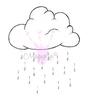 Rain Cloud   per stuk