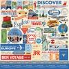 Passport  Stickervel 12