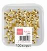 Push Pins / Brads  Gold