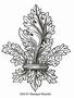 Baroque Fleur-de-Lys   per stuk