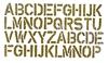 Alfabet   per stuk