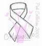 Pink Stiched Ribbon