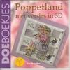Poppetland met versjes in 3D   per stuk