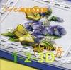 Creations. Fleurig 1-2-3 D   per stuk